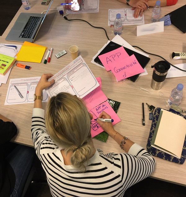 Atelier Design Thinking Le Figaro