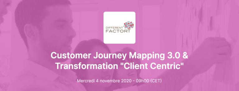Webinar Customer Journey Mapping