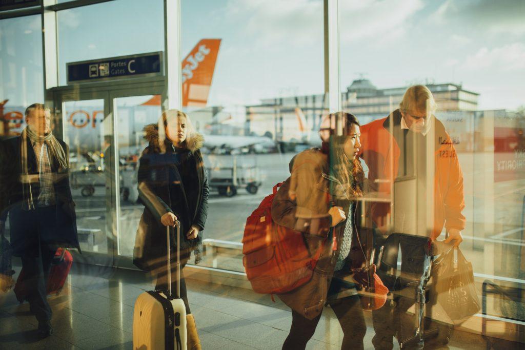 exemple Parcours clients aéroport